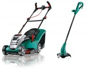Lawnmowers, grass trimmers