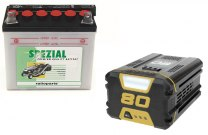 Batteries for lawnmovers and tractors