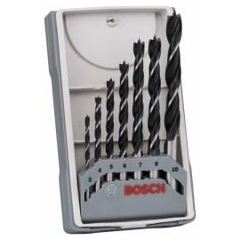 Wood drill bit set Bosch; 3-10 mm; 7 units