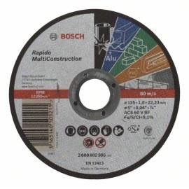 Abrasive cutting disc Bosch C60 T BF; 125x1 mm