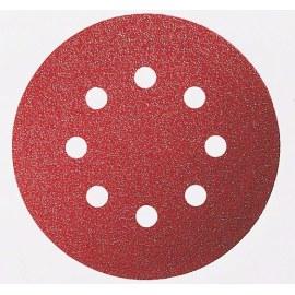 Sandpaper for random orbit sanders Expert for Wood; 125 mm; K80; 5 units