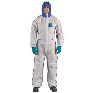 Disposable overall Ansell Alphatec 1800 Type 5/6; XXL; white