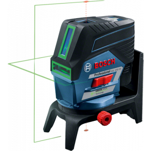 Cross line laser Level Bosch GCL 2-50 CG +RM2; 1x2,0 Ah battery; green