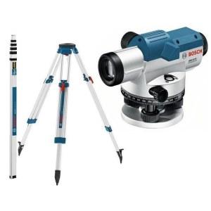Optic leveler Bosch GOL 32D + stand BT 160 + ruler GR 500