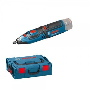 Rotary tool Bosch GRO 12V-35 Solo L-Boxx (without battery and charger)