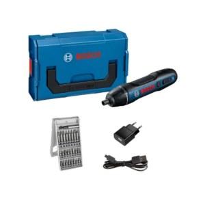 Screwdriver Bosch GO l-boxx Mini; 3,6 V; 1x1,5 Ah accu.