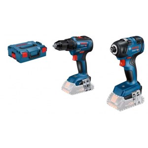 Tool set Bosch (GDR 18V-200 + GSB 18V-55); 18 V (without battery and charger)