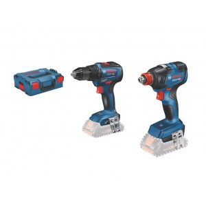 Tool set Bosch (GDX 18V-200 + GSR 18V-55); 18 V (without battery and charger)