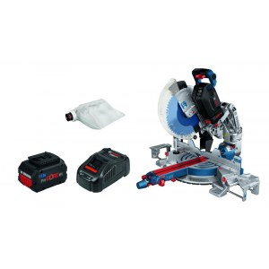 Compound mitre saw Bosch GCM18V-305 GDC Professional; 18 V; 2x5,5 Ah accu.