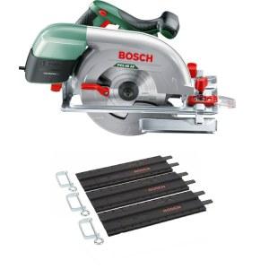 Circular saw Bosch PKS 66-2 AF AKC + 3x35 cm guide rail