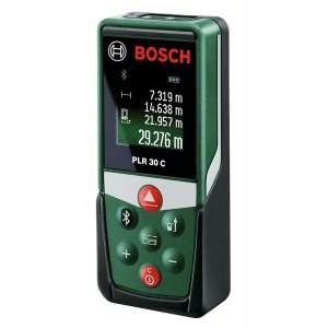 Laser rangefinder Bosch PLR 30 C with Bluetooth function