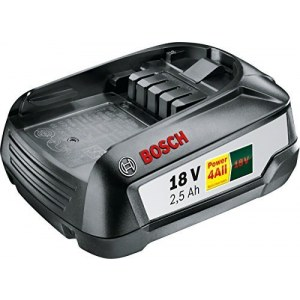 Battery Bosch PBA 18; 18 V; 2,5 Ah; Li-lon