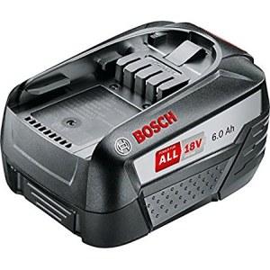 Battery Bosch PBA 18; 18 V; 6,0 Ah; Li-lon