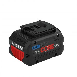 Battery Bosch ProCORE; 18 V; 8,0 Ah; Li-ion