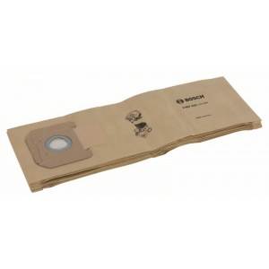 Paper bags for vacuum cleaner Bosch, GAS 35; 5 units
