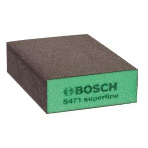 Sanding sponge Bosch Flat&Edge; 69x97x26 mm; P320-500
