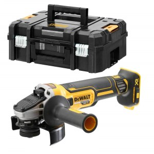 Angle grinder Dewalt DCG405NT; 18 V (without battery and charger)