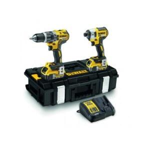 Tool set DeWalt DCK266P2 (DCD796+DCF887); 18 V; 2x5,0 Ah accu.