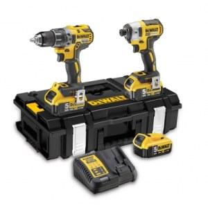 Tool set DeWalt DCK266P3 (DCD796+DCF887); 18 V; 3x5,0 Ah accu.