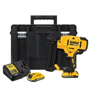Battery operated nailer for construction sites DeWalt DCN680D2; 18 V; 2x2,0 Ah accu.