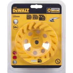 Diamond grinding disc DeWalt TURBO; 125 mm