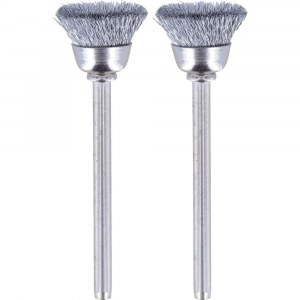 Carbon steel brush Dremel 442, 3,2 mm, 13,0 mm; 2 units
