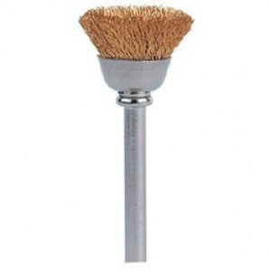 Brass brush Dremel 536; 13 mm; 2 units