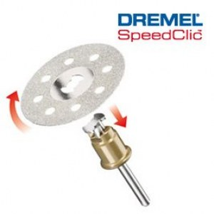 SpeedClic daimond cutting disc Dremel SC545, 38,0 mm