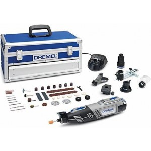 Cordless multifunctional tool Dremel 8220 5/65 Platinum + 65 accessories