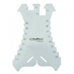 Marking plate / cutter EDMA 036155; 5-100 mm
