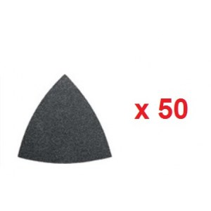 Sandpaper for delta sander Fein; P100; 50 units
