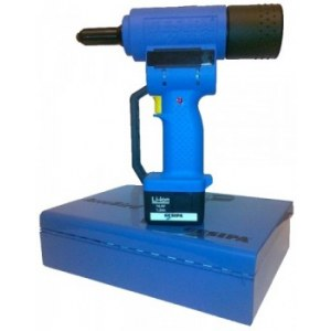 Cordless riveting tool Gesipa AccuBird; 14,4 V; 1x1,3 Ah accu.