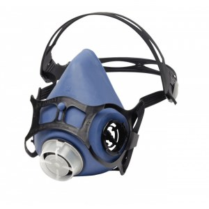 """Safety mask HONEYWELL 6100V-EC """"Click-Fit""""; M (without filters)"""
