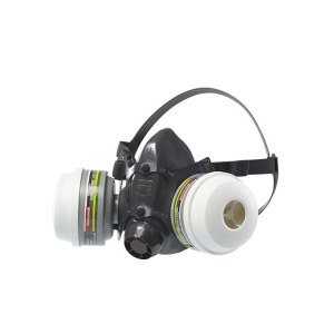 Safety mask Honeywell N7700; M (without filters)