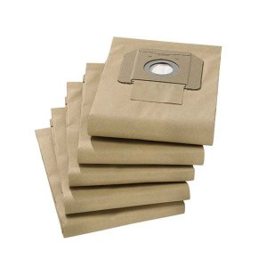Paper bags for vacuum cleaner Karcher NT35/1 Tact; NT35/1; NT361; 5 units