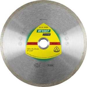 Diamond cutting disc for wet cutting Klingspor DT 300 F Extra; 200x1,9x30,0 mm