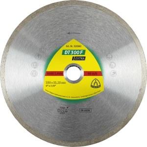 Diamond cutting disc for wet cutting Klingspor DT 300 F Extra; 200x1,9x30,0 mm