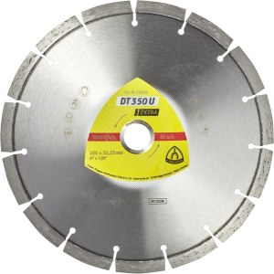Diamond cutting disc for dry cutting Klingspor DT 350 U Extra; 300x2,8x20,0 mm