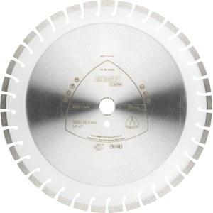Diamond cutting disc for dry cutting Klingspor DT 600 U Supra; 400x3,6x25,4 mm