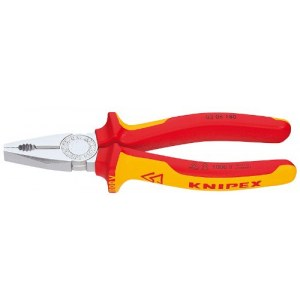 Universal pliers for electrician Knipex 0306180; 180 mm
