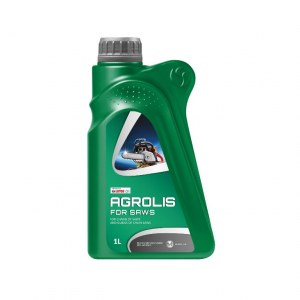 Oil for lubricating chain saws Lotos Oil Agrolis For Saw (ISO VG 80); 1 l