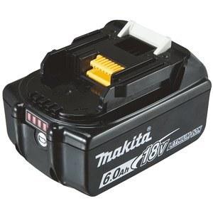 Battery Makita BL1860B; 18 V; 6,0 Ah; Li-ion