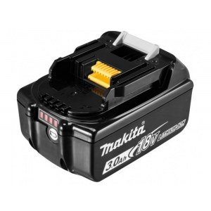 Battery Makita BL1830B; 18 V; 3,0 Ah; Li-Ion