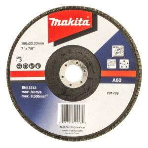 Fan-shaped grinding wheel Makita Economy; 125 mm; A40