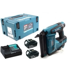 Strip nailer Makita DBN500RFE; 18 V; 2x3,0 Ah accu.