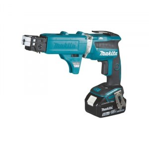 Screwdriver Makita DFS452TJX2; 18 V; 2x5,0 Ah accu.