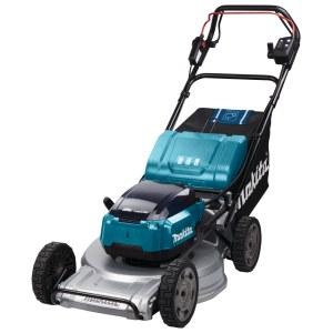 Cordless self propelled lawn mower  Makita DLM533PT4; 2x18 V; 4x5,0 Ah accu.