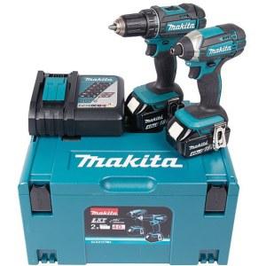 Tool set Makita DLX2127MJ (DDF482+DTD152); 18 V; 2x4,0 Ah accu.
