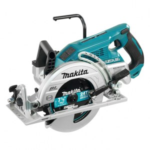 Cordless circular saw Makita DRS780Z; 2x18 V (without battery and charger)