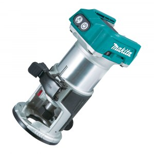 Cordless edge router Makita DRT50Z; 18 V (without battery and charger)